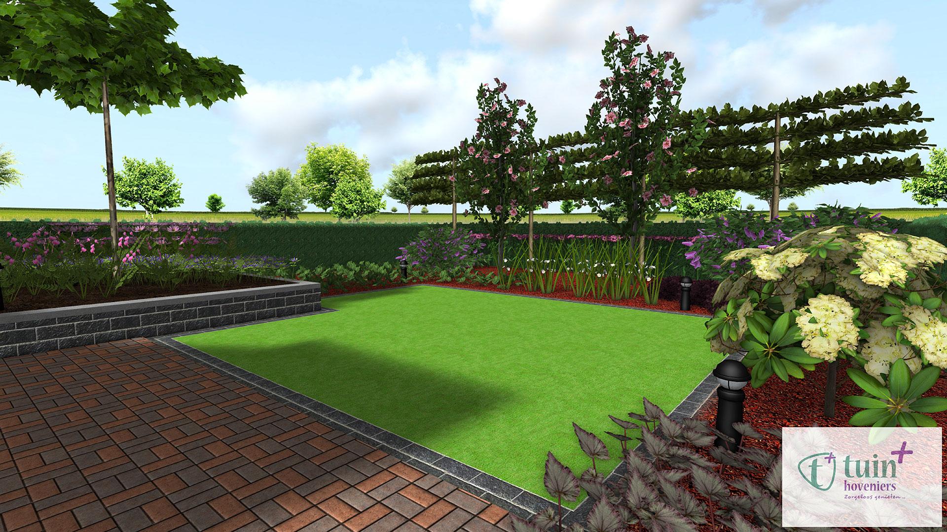 3d tuinontwerp meer dan een schets tuin hoveniers for 3d tuin ontwerpen